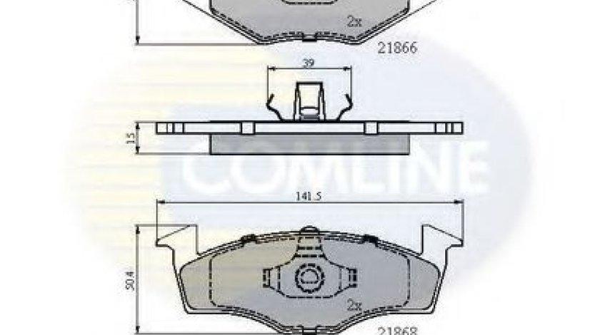 Set placute frana,frana disc VW GOLF III (1H1) (1991 - 1998) COMLINE CBP0180 piesa NOUA
