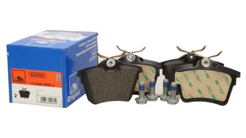 Set Placute Frana Spate Ate Peugeot 407 2004-2011 13.0460-2893.2