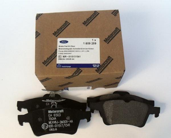 Set Placute Frana Spate Ford 1809259 Kft Auto