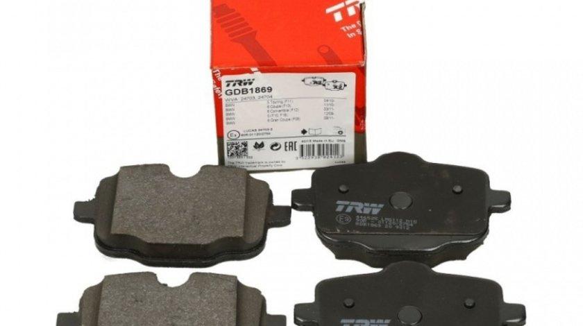 Set Placute Frana Spate Trw Bmw Seria 5 F10 2009-2016 GDB1869