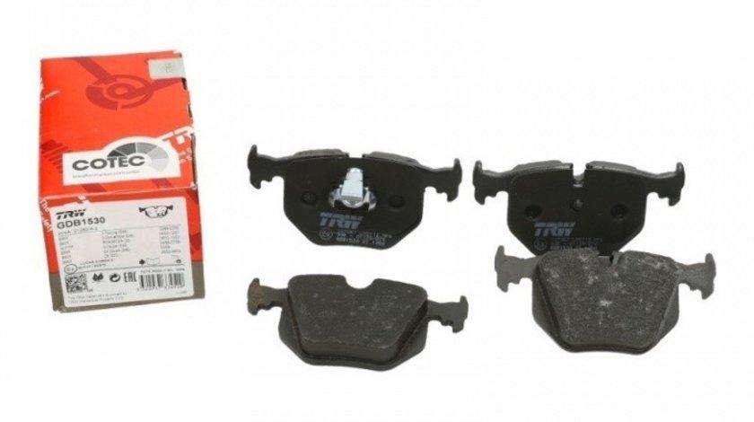 Set Placute Frana Spate Trw Bmw X3 E83 2003-2011 GDB1530