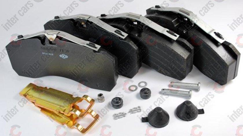 set placute franafrana disc KYMCO MXU Producator KNORR K 046771K50
