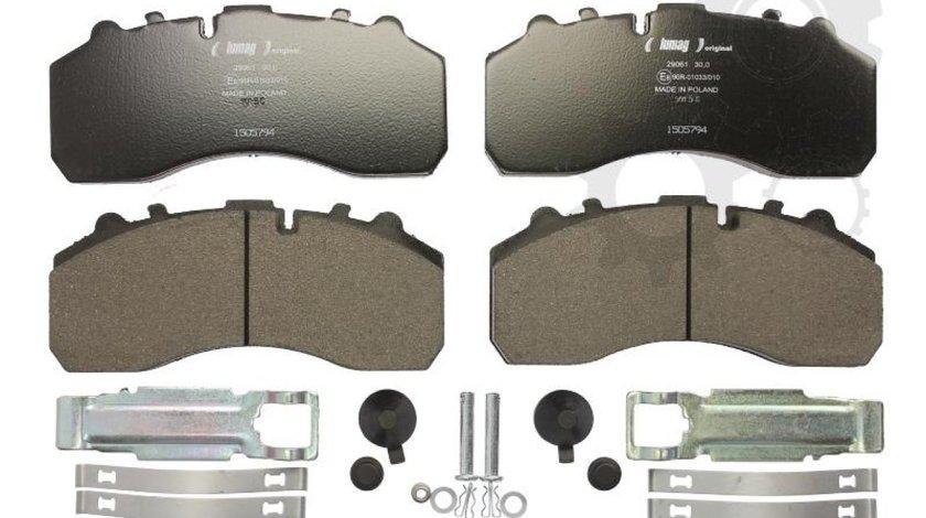 set placute franafrana disc KYMCO MXU Producator LUMAG 29059 00 901 10