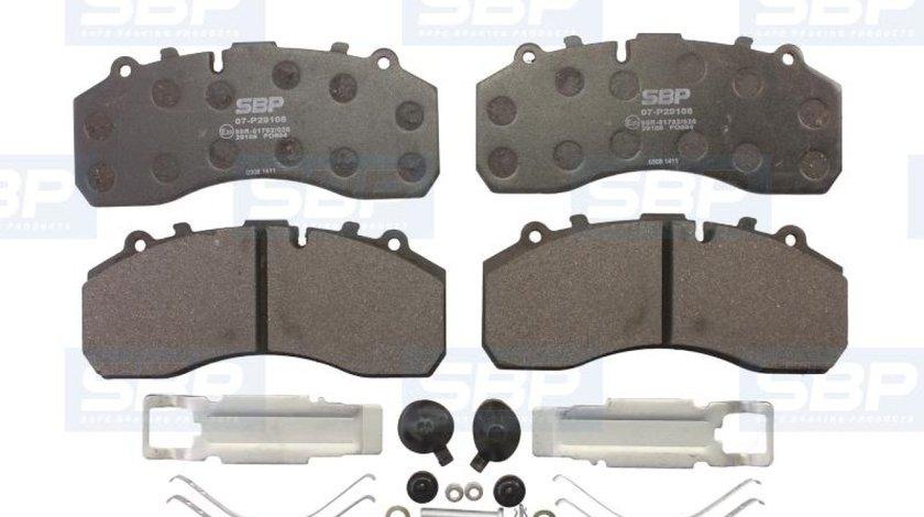 set placute franafrana disc KYMCO MXU Producator SBP 07-P29108