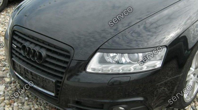 Set pleoape ABS Sline faruri Audi A6 C6 4F S6 RS6 2004-2011 v1