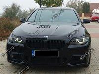 Set pleoape faruri BMW F10 F11 Seria 5 2011 2012 2013 2014 2015 ABS ver2