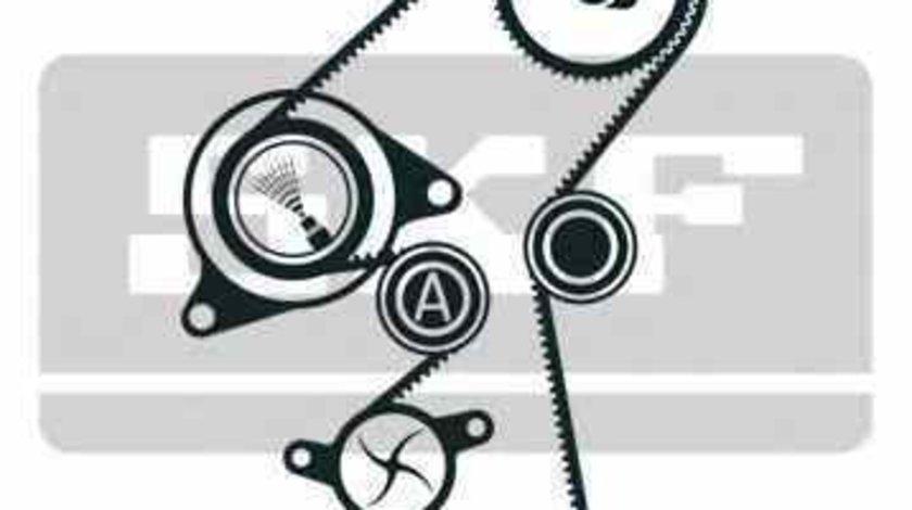 Set pompa apa + curea dintata CITROËN BERLINGO caroserie M Producator SKF VKMC 03316