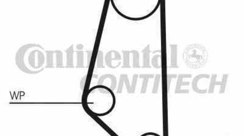 Set pompa apa + curea dintata OPEL ASTRA F combi 51 52 CONTITECH CT720WP1
