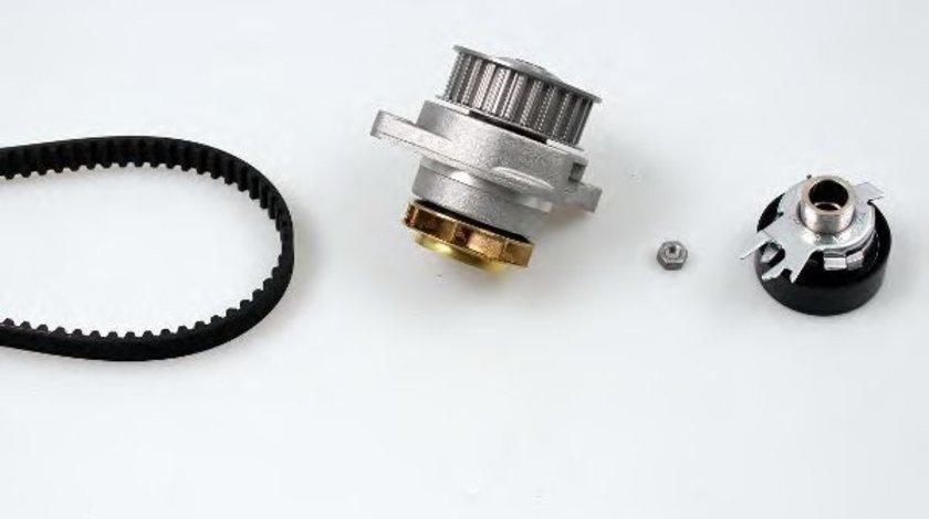 Set pompa apa + curea dintata VW GOLF III (1H1) (1991 - 1998) HEPU PK05402 produs NOU