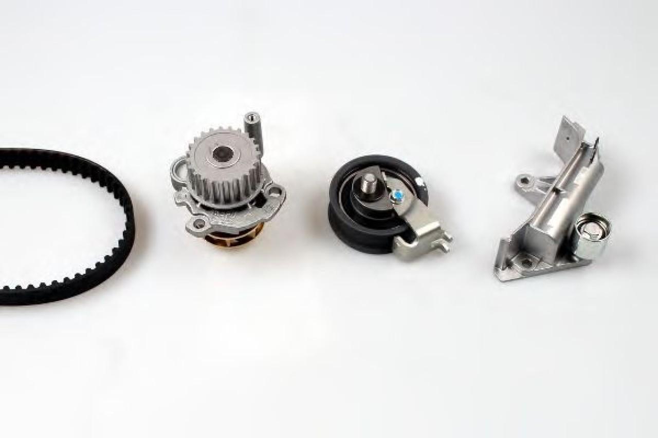 Set pompa apa + curea dintata VW GOLF IV (1J1) (1997 - 2005) HEPU PK05476 produs NOU