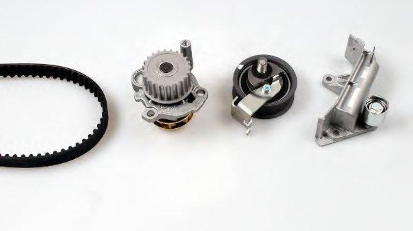 Set pompa apa + curea dintata VW GOLF IV (1J1) (1997 - 2005) HEPU PK05474 - produs NOU