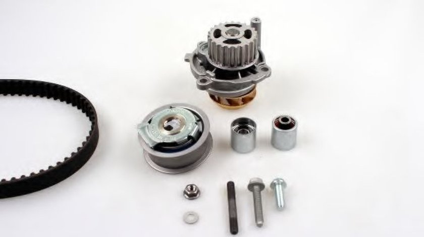 Set pompa apa + curea dintata VW GOLF V (1K1) (2003 - 2009) HEPU PK05721 produs NOU