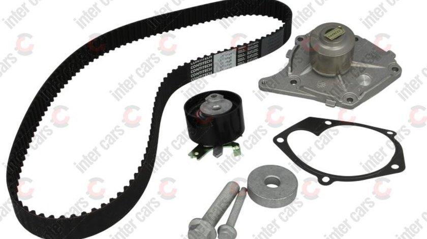 Set pompa apa + curea distributie DACIA DUSTER Producator HEPU PK09620