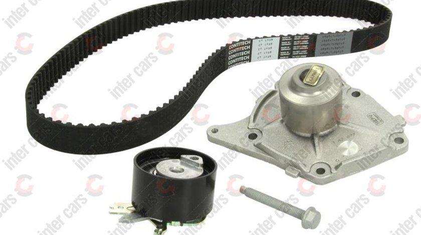 Set pompa apa + curea distributie DACIA DUSTER Producator HEPU PK09621