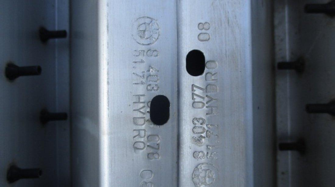 SET PRAG ALUMINIU + PRAG INTERIOR PLASTIC STANGA / DREAPTA BMW X5 E53 FAB. 2000 - 2006 ⭐⭐⭐⭐⭐