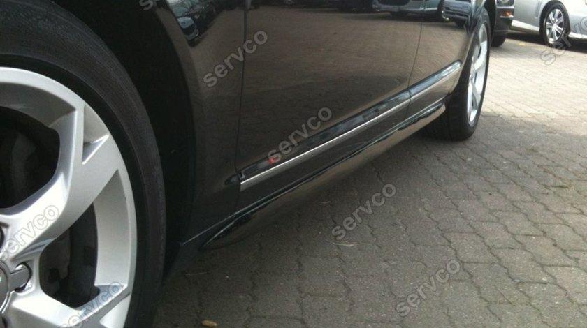 Set praguri ornamente Sline tuning sport Audi A6 C6 4F S6 RS6 S line 2004-2011 v1