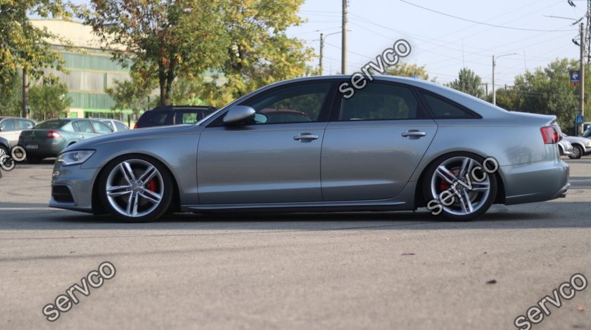 Set praguri Sline Audi A6 C7 4G S6 Rs6 S-line 2011-2014 v2