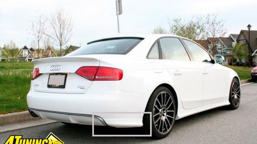 Set prelungire bara spate S Line Audi A4 B8 2008- Sedan S line