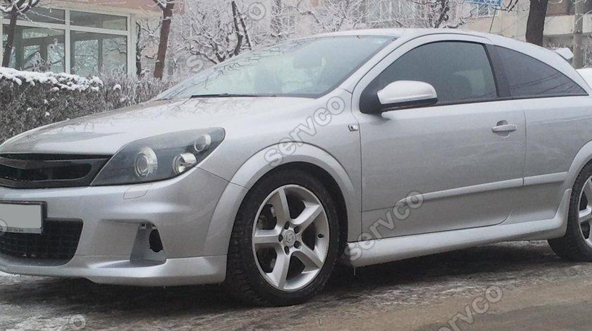 Set prelungiri praguri Opel Astra H GTC OPC Line 2004-2014 v1