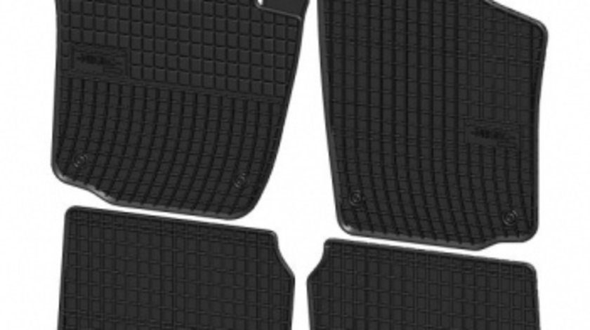Set presuri cauciuc negru dedicate Skoda Rapid