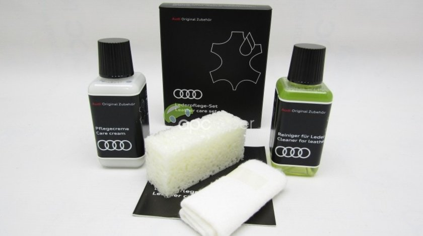 Set produse intretinere piele Audi Original