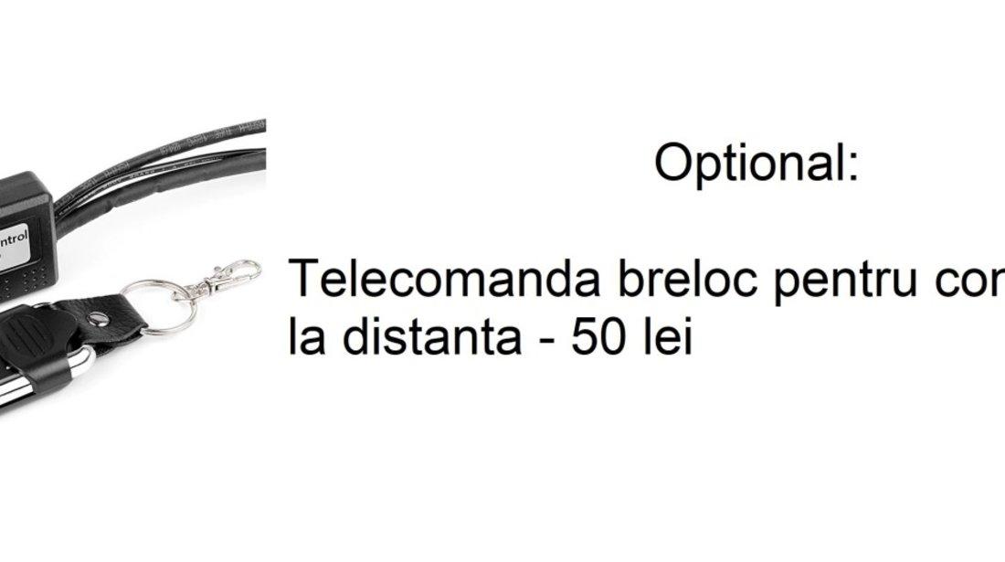 Set proiector led bar 60 cm 324w cu mini bullbar suport numar + kit cablaj , releu si buton