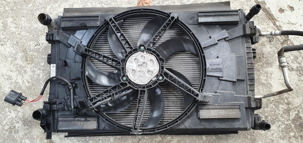 Set radiatoare Radiator auxiliar apa ac Vw Passat B8 1.6 TDI / 2.0 TDI 2015 2016 2017 2018