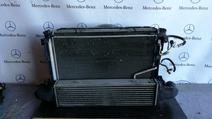 Set radiatoare+ventilator euro 5 Mercedes E class coupe w207