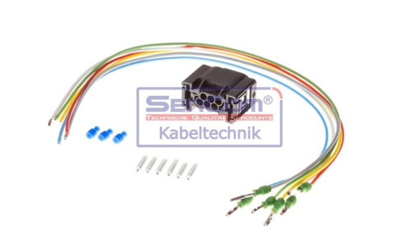 Set reparat cabluri, faruri principale AUDI A4 (8E2, B6) SENCOM SEN503043