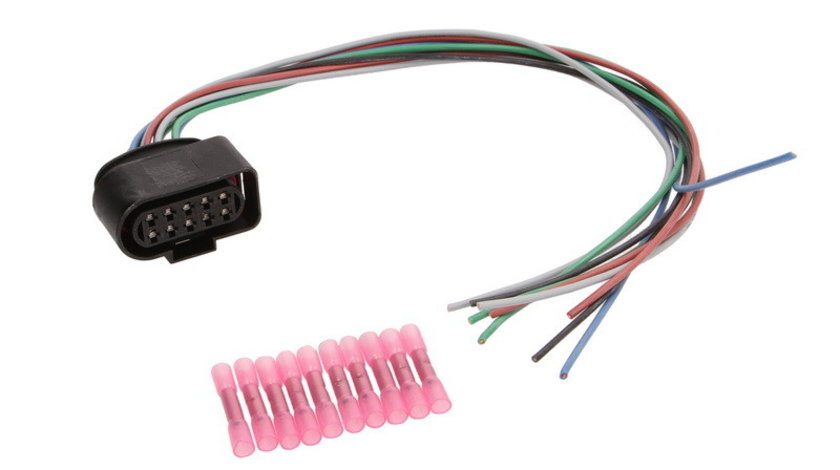 Set reparat cabluri, faruri principale AUDI A4 (8E2, B6) SENCOM SEN7620-E03