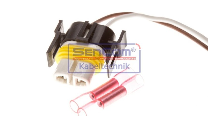 Set reparat cabluri, faruri principale NISSAN QASHQAI II Closed Off-Road Vehicle (J11, J11_) SENCOM SEN503095