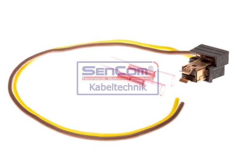 Set reparat cabluri, faruri principale VW LUPO (6X1, 6E1) SENCOM SEN503035