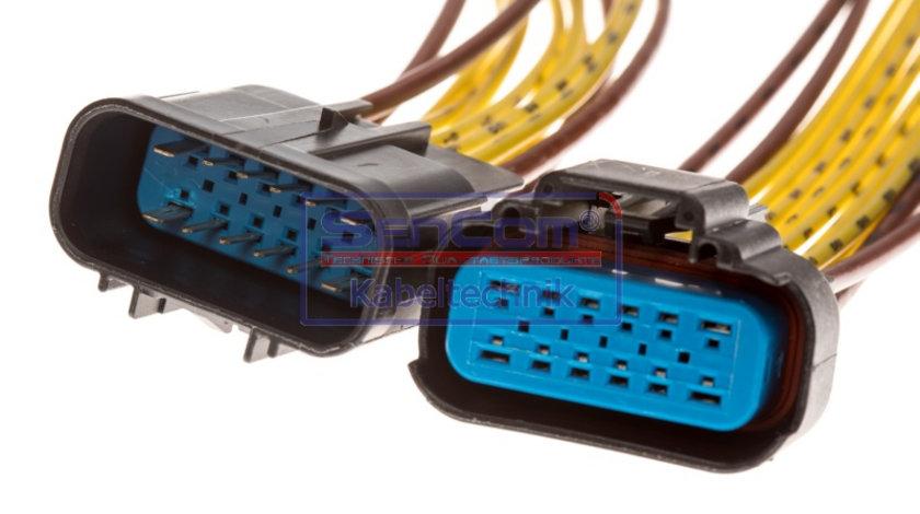 Set reparatie cabluri (cu 12 pini) CITROEN JUMPER; FIAT DUCATO; PEUGEOT BOXER 2.0 d-3.0 d dupa 2006