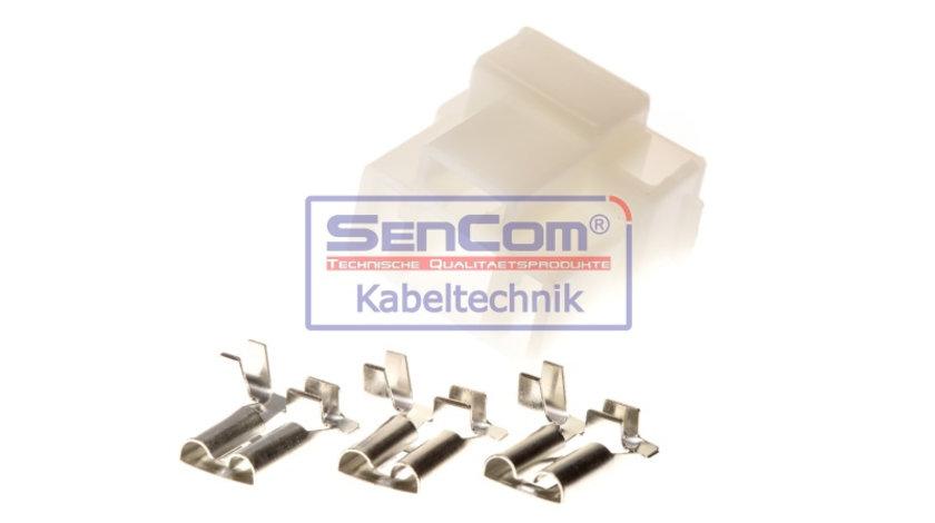 Set reparatie cabluri pentru H4 P43t (mufa) AUDI; BMW; VW ALFA ROMEO 164, 33, SPIDER; AUDI 100, 80, A3, A4, CABRIOLET, COUPE, V8; CHEVROLET AVEO / KALOS, MATIZ, REZZO, TRANS SPORT