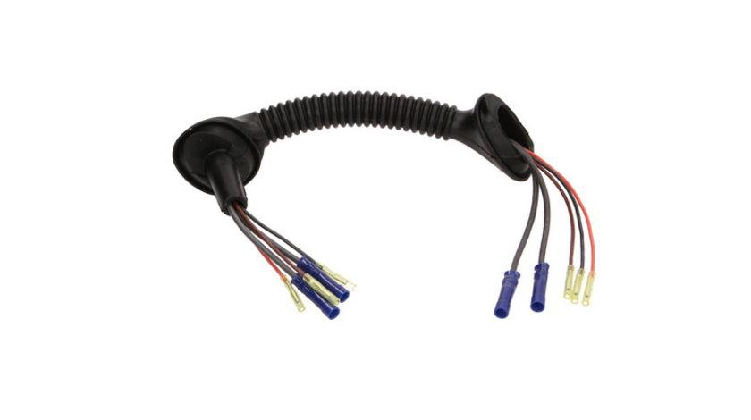 Set reparatie cabluri portbagaj (350mm, cu 5 pini, cu acoperire, stanga) BMW Seria 3 (E46) 1.8-3.0 d intre 1999-2005