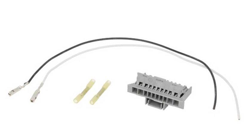 Set reparatie cabluri sistem electric central pentru far (numar pini: 2, cu mufa) FIAT PANDA 1.1-1.4CNG dupa 2003