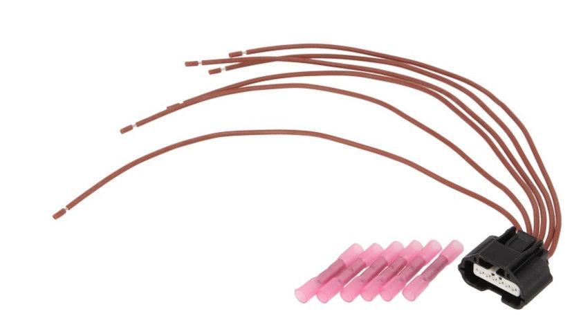 Set reparatie cabluri supapa EGR (250mm, numar pini: 6, fara capac) RENAULT LAGUNA II, MEGANE II, SCENIC II 1.9 dupa 2002