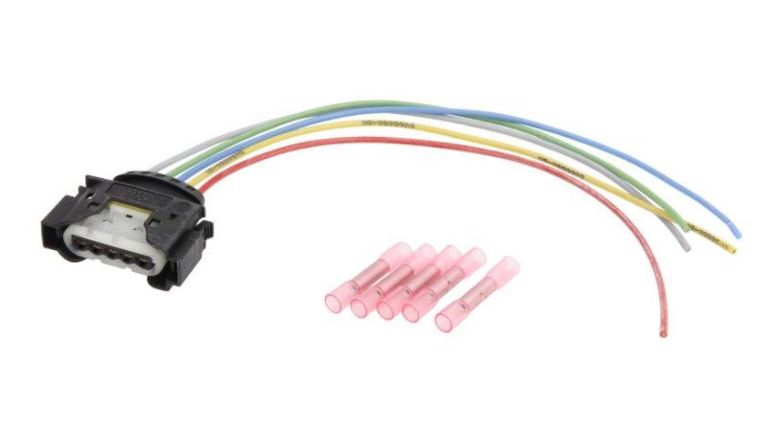 Set reparatie cabluri supapa EGR for Debitmetru aer AUDI; SEAT; SKODA; VW A3; A6; A6 AVANT; ALHAMBRA; BORA; CORDOBA; GOLF IV; IBIZA II; LEON; NEW BEETLE; OCTAVIA; PASSAT; TOLEDO II AUDI A3, A4, A6 1.4
