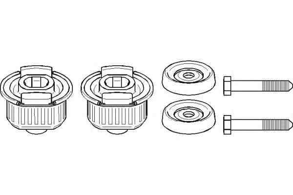 Set reparatie corp ax MERCEDES-BENZ E-CLASS combi S124 TOPRAN 400 912