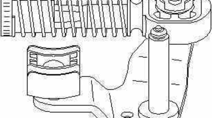 Set reparatie levier cutie de viteze SEAT AROSA 6H TOPRAN 111 333