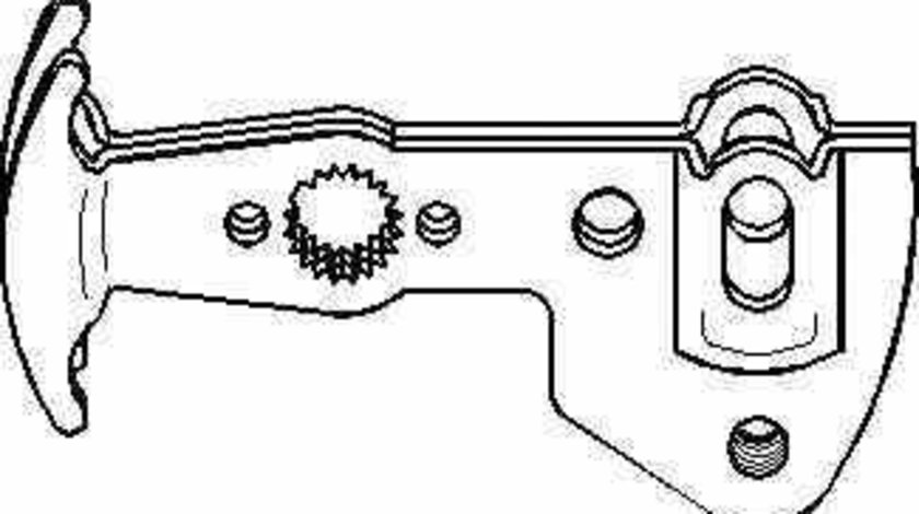 Set reparatie levier cutie de viteze SEAT TOLEDO II 1M2 TOPRAN 111 567