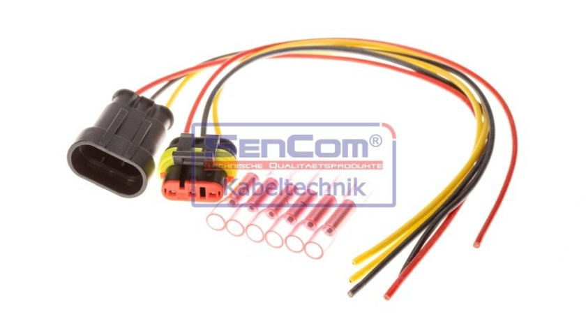 Set reparatie, set cabluri AUDI A5 (8T3) SENCOM SEN3052002