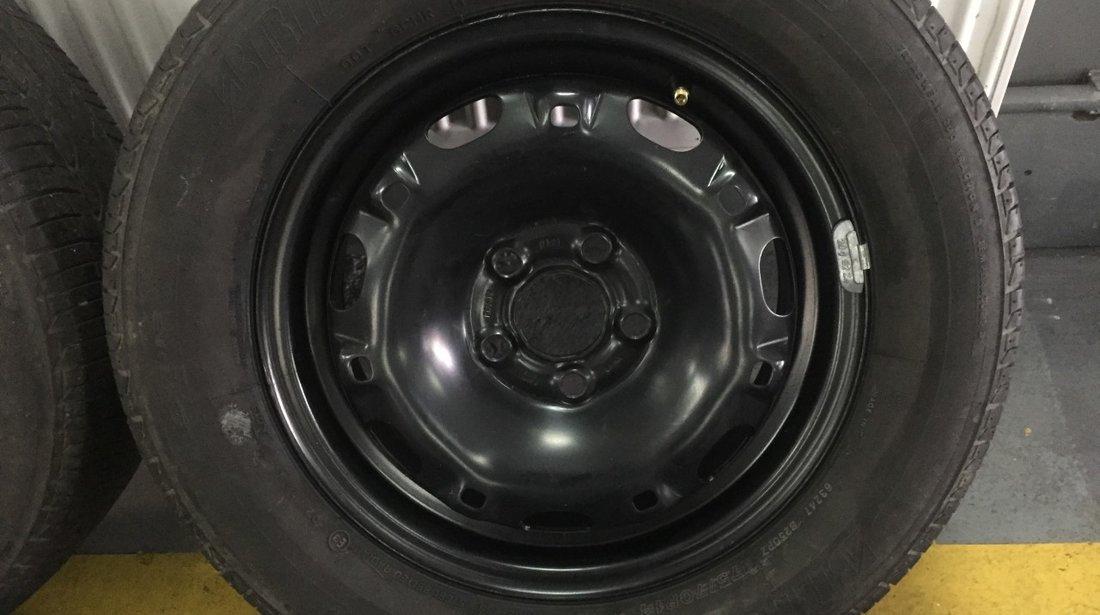 Set roti R14 vara jante cu anvelope 175/70R14 VW/Seat/Skoda 5x100