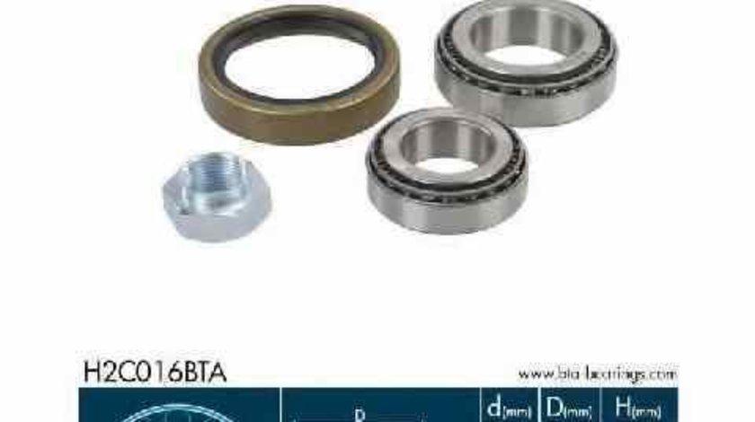 Set rulment roata PEUGEOT BOXER platou / sasiu ZCT BTA H2C016BTA