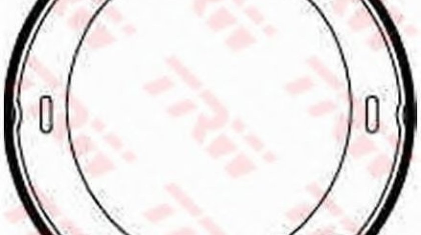 Set saboti frana, frana de mana MERCEDES E-CLASS Combi (S124) (1993 - 1996) TRW GS8208 produs NOU