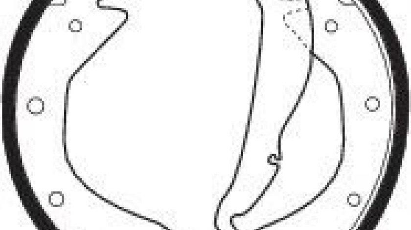 Set saboti frana OPEL ASTRA F Combi (51, 52) (1991 - 1998) FERODO FSB335 produs NOU