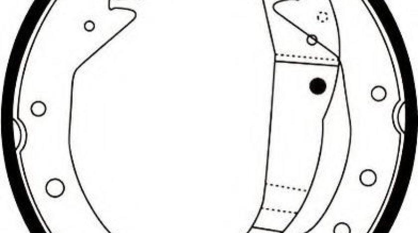 Set saboti frana OPEL ASTRA G Combi (F35) (1998 - 2009) JURID 362426J produs NOU