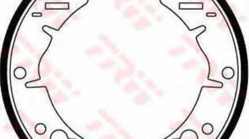 Set saboti frana ROVER MINI-MOKE TRW GS6028
