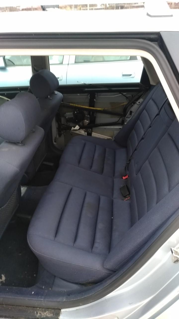 Set scaune fata cu incalzire+bancheta Audi A6 C5 break