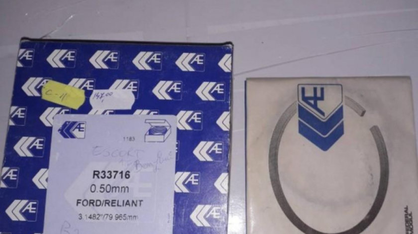 Set segmenti Ford Escort 3 (1980-1986) [GAA]